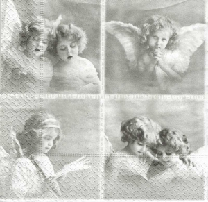 Serwetka do decoupage 4 Angels